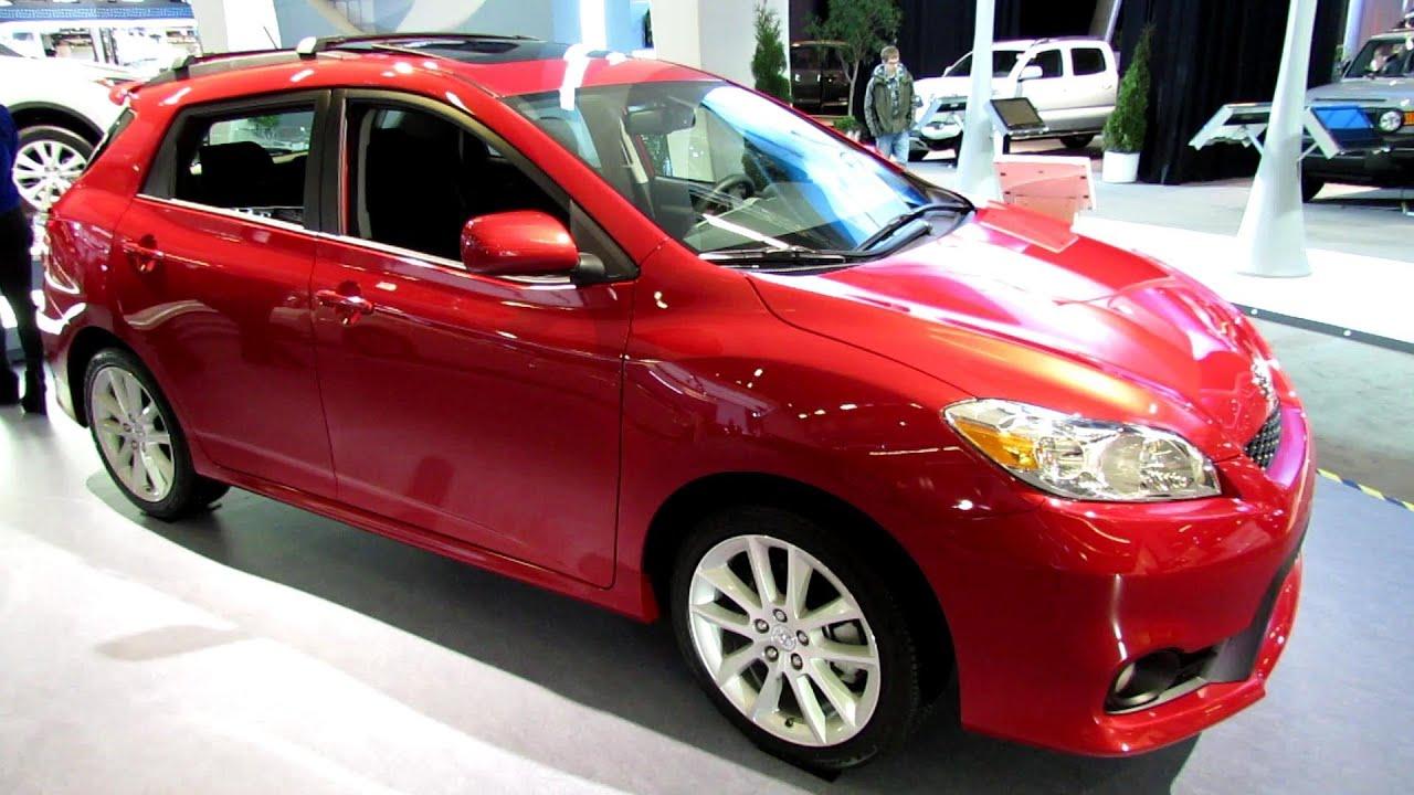 2013 Toyota Matrix XRS   Exterior And Interior Walkaround   2013 Montreal  Auto Show   YouTube