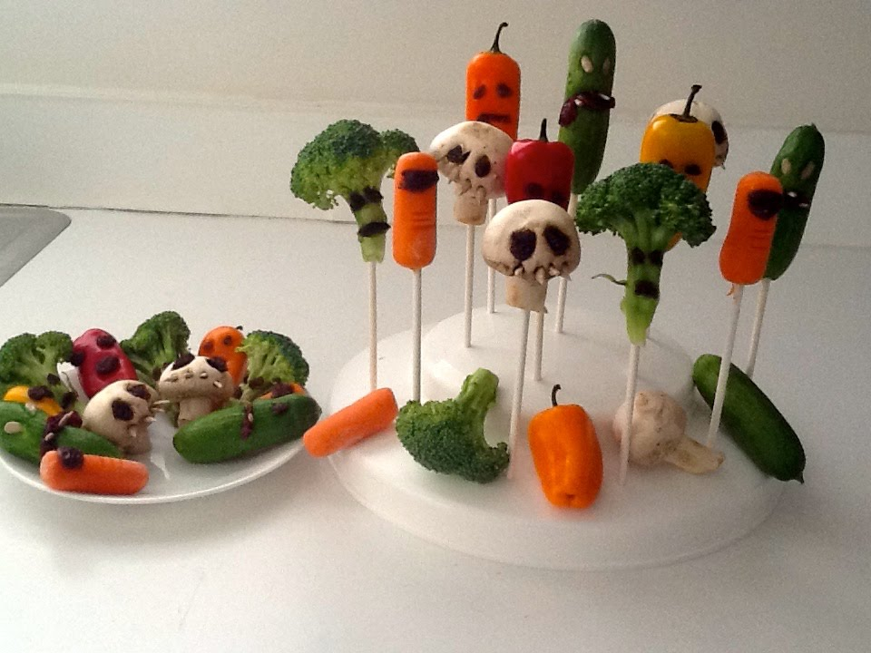 Easy healthy halloween treats for school fun and healthy for Easy halloween treats for work party