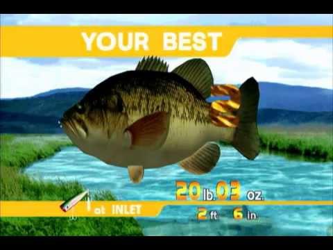 Sega Bass Fishing (XBLA) Arcade Mode