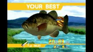 Sega Bass Fishing (XBLA) Arcade Mode