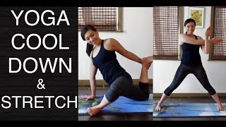 Video Post-Workout Yoga Stretch and Flow Routine - 25 Minutes download MP3, 3GP, MP4, WEBM, AVI, FLV Maret 2018