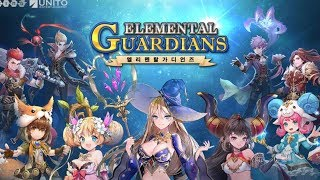 ELEMENTAL GUARDIANS ANDROID GAMEPLAY (KR)