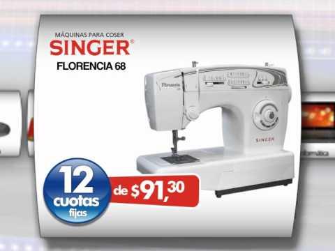 Maquina de coser FLORENCIA 68 - Super Promoción