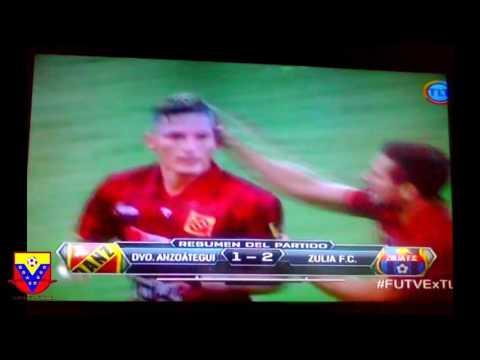 Resumen: Deportivo Anzoátegui 1-2 Zulia FC   Goles   Fútbol Venezolano  