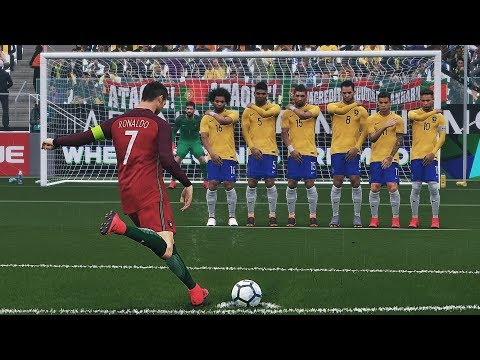 PES 2018 - Free Kick Compilation #7 HD 1080P 60FPS