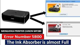 Cara Mengatasi ERROR 5B00 Printer Canon ip2770 videos