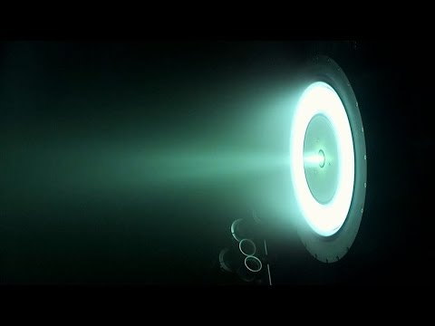 NASA's New Ion Thruster Breaks Records, Could Take Humans to Mars