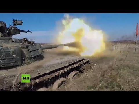 Ejército Ruso Realiza Maniobras Masivas Con Decenas De Tanques Y Helicópteros A Orillas Del Báltico