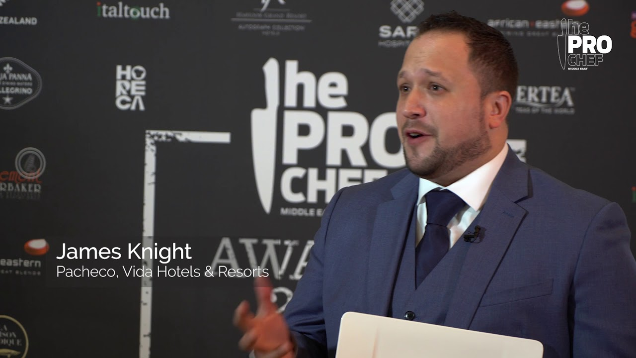 The Pro Chef ME chats with James Knight-Pacheco