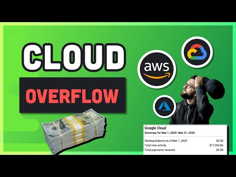 How to Burn Money in the Cloud // Avoid AWS, GCP, Azure Cost Disasters