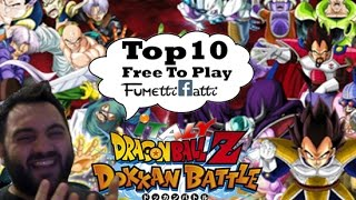 Dragon Ball Z Dokkan Battle - TOP 10 Personaggi Free To Play