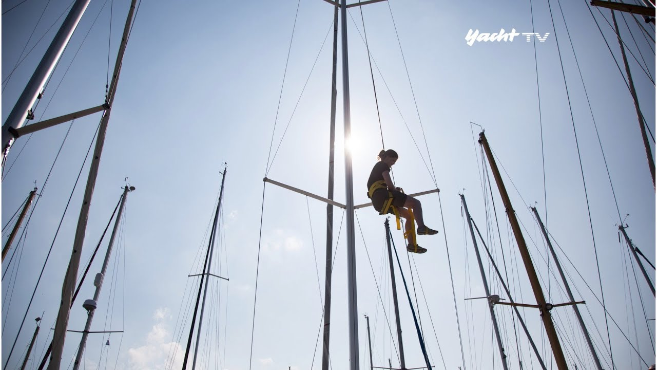 Klettergurt Für Mast : Aufstiegshilfen im test: mit eigener kraft den mast erklettern youtube