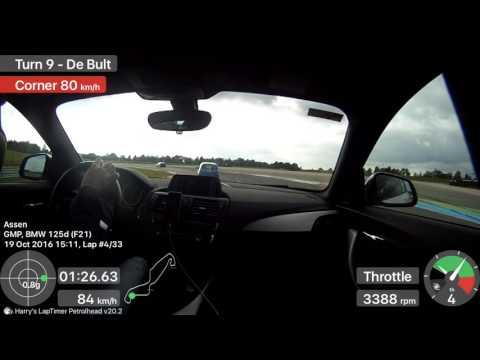 19.10.2016 BMW 125d M Sport TT Circuit Assen - Session 1