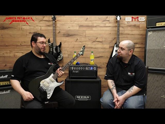 Harry Hammettizes His ESP Kirk Hammett KH-2 Guitar