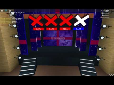Amber sings to Despacito | Auditions 4 | Got Talent ROBLOX 2017