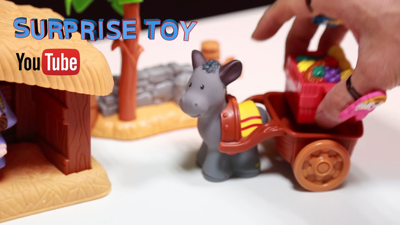 Christmas Present Fisher Price Little People A Christmas Story Hari Natal Rozhdestvo 圣诞