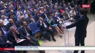 Emmanuel Macron : « Le droit à l'expérimentation sera simplifié »