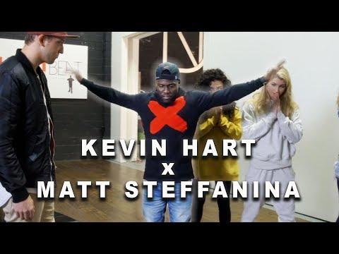 KEVIN HART TEACHES MATT DANCE  *god&39;s plan*
