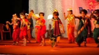 Folk (koli) dance of Maharashtra -Khushi Jha Live performance  @ Hiranandani