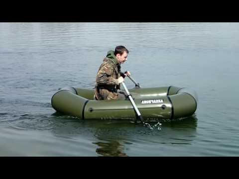Надувная лодка из ПВХ Лисичанка 1.5-местная. Новая модель 2014 года