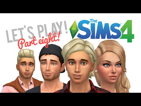 Let's Play The Sims 4 — Part 8 — Which child should we adopt