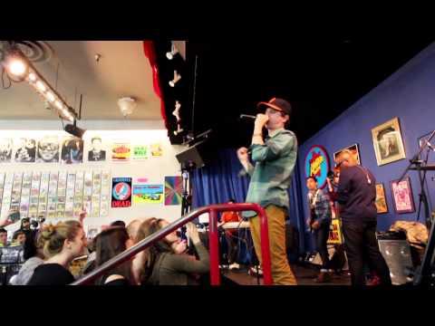 Energy LIVE - George Watsky - Amoeba Records in San Francisco
