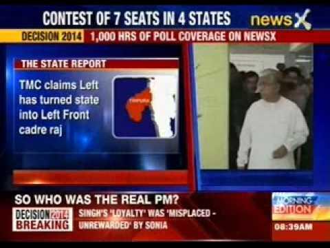 Lok Sabha polls 2014: A third of Tripura castes it's votes