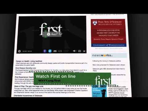 "WITN presents WHYY's ""First"" - May 15, 2015"