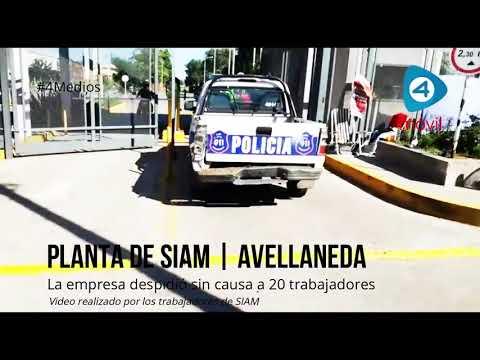 """Avellaneda: denuncian """"militarización y vaciamiento"""" de la empresa SIAMtras los 20 nuevos despidos"""