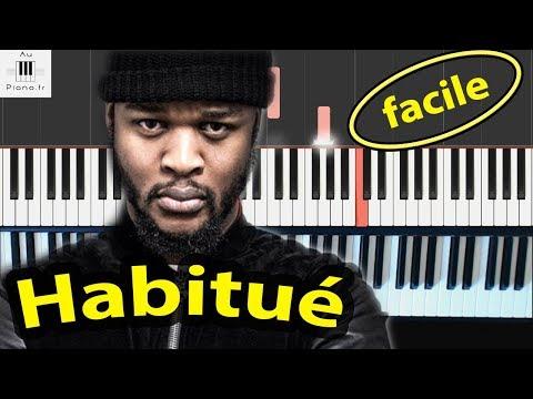 Dosseh - Habitué - Tutorial Piano facile Cover