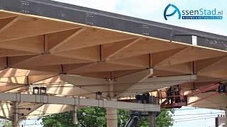 Dak van station Assen is klaar