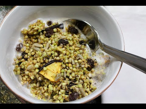 How to make sprouted buckwheat cereal organic vegan gluten how to make sprouted buckwheat cereal organic vegan gluten free youtube ccuart Image collections