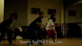 Krista Roma Choreography - Backseat Action by Tpain