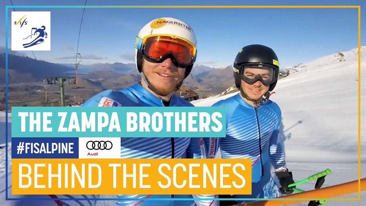 Brothers on Tour - The 'Zampas' | FIS Alpine