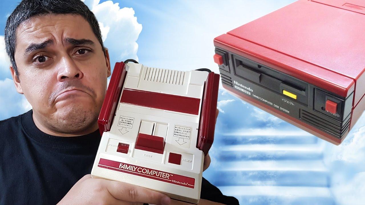 DEU RUIM no Unboxing do Famicom + Disk System
