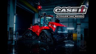 Revealing a $500,000 Tractor with CASE IH  | Behind the Scenes