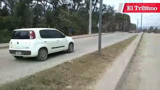 VIDEO. Palomares se rehúsa a arreglar avenida Carriego