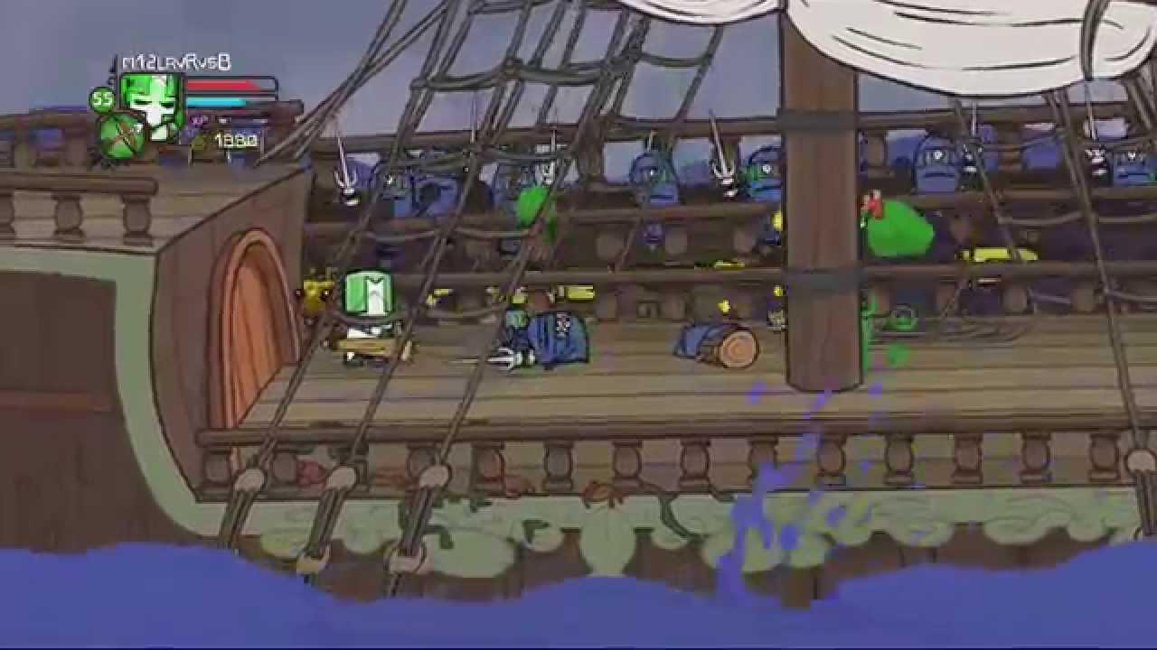 Space Pirates Castle Crashers