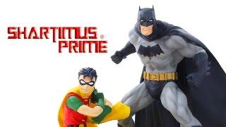Kotobukiya Batman and Robin ArtFX+ Jim Lee and Frank Miller All Star DC Comics 2 Pack Statue Review
