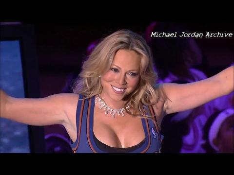 Sweetest Michael Jordan Introduction Ever? Mariah Carey 2003 All-Star Game!
