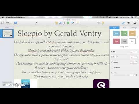 Sleepio App Gerald Ventry - YouTube