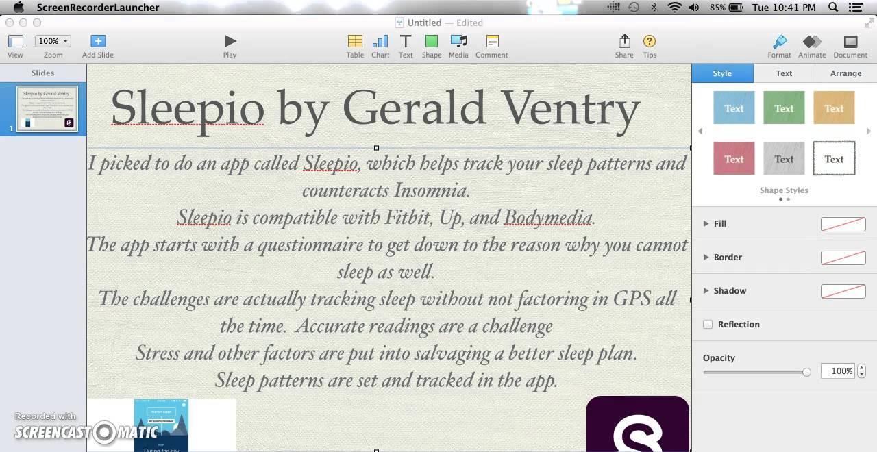 Sleepio App Gerald Ventry