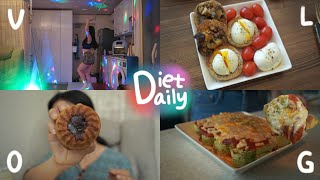 Diet&Daily vlog } -10kg다이어…