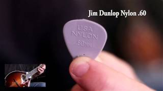Picks comparison. Dunlop nylon and max-grip review : which ones sound the best on mandolin ?