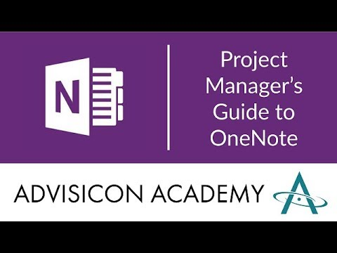 Project Manager's Guide to OneNote | Webinar Wednesday