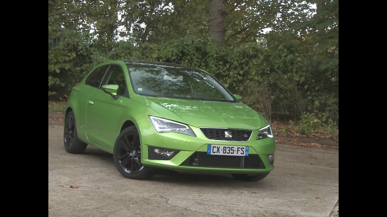 essai seat leon sc 2 0 tdi 184 fr 2013 youtube. Black Bedroom Furniture Sets. Home Design Ideas