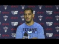 Titans QB Marcus Mariota Press Conference | #LAvsTEN