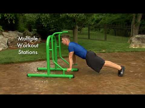 Stamina Outdoor Fitness Multi Use Station Review - Outdoor fitness equipment