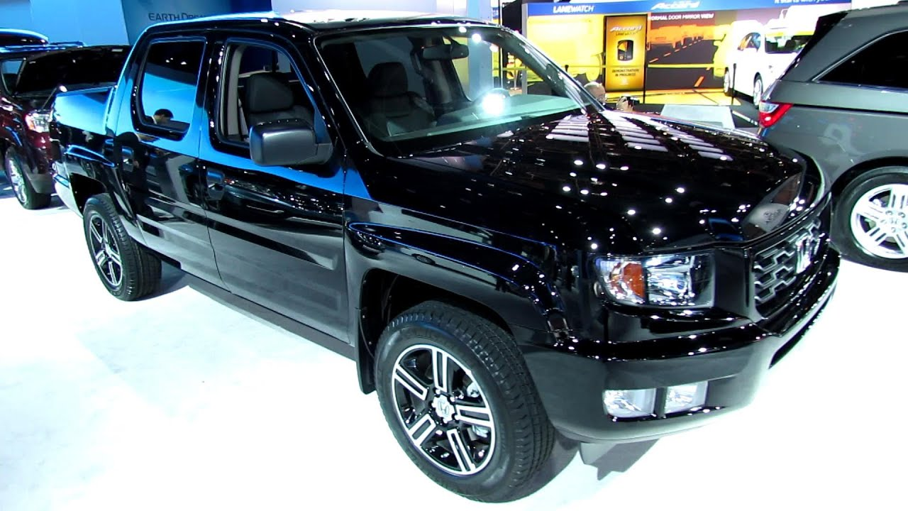 2013 honda ridgeline sport 4wd exterior and interior. Black Bedroom Furniture Sets. Home Design Ideas