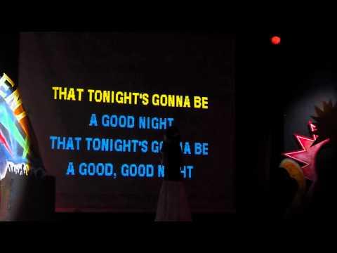 Katie Singing @ the Karaoke - Dreams Punta Cana - June 2012